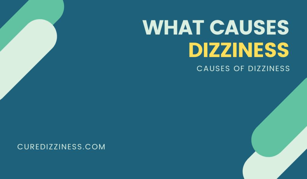 CAUSES OF DIZZINESS